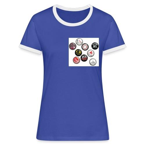 badgesCB - T-shirt contrasté Femme