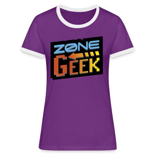 NEW Logo T-Shirt Femme - T-shirt contrasté Femme