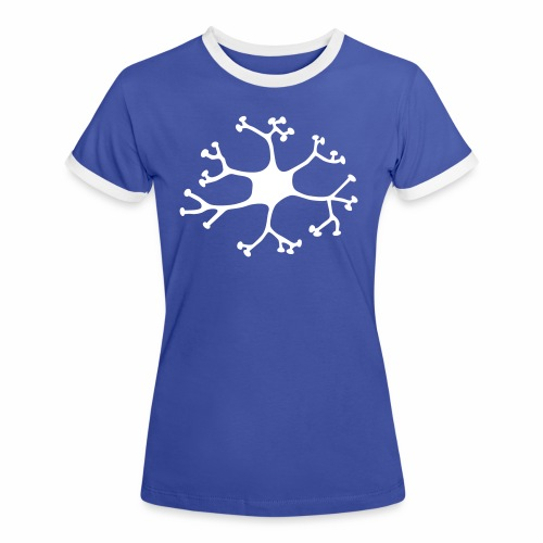 Neuron - Frauen Kontrast-T-Shirt