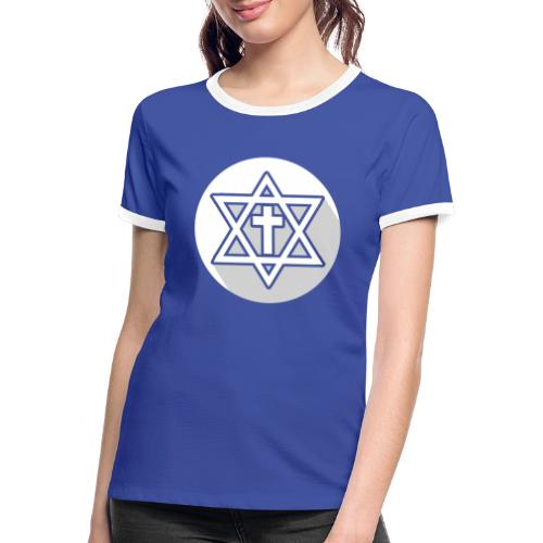 The Cross - Camiseta contraste mujer