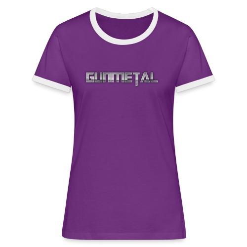 Gunmetal - Women's Ringer T-Shirt