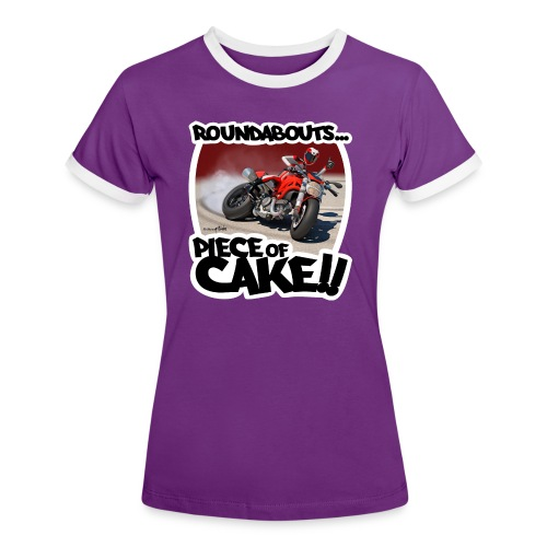 Ducati Monster Skidding - Camiseta contraste mujer