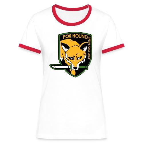 Fox Hound Special Forces - Naisten kontrastipaita