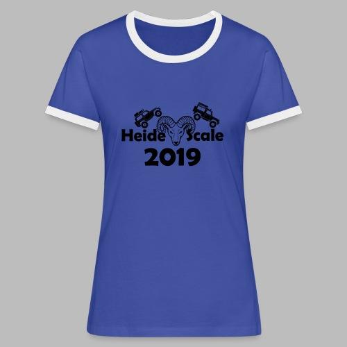 HeideScale 2019 - Frauen Kontrast-T-Shirt