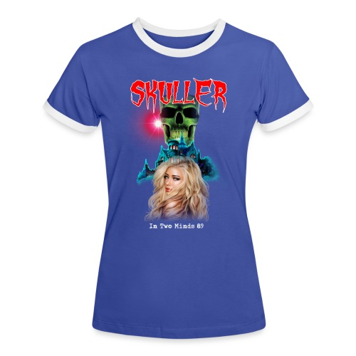skuller in two minds 89' tour t shirt - Women's Ringer T-Shirt