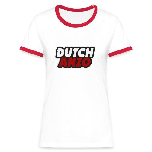 dutchanzo - Vrouwen contrastshirt
