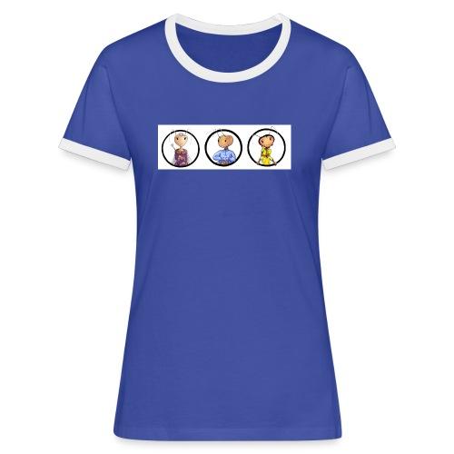 andimeisfelddrei02 - Frauen Kontrast-T-Shirt