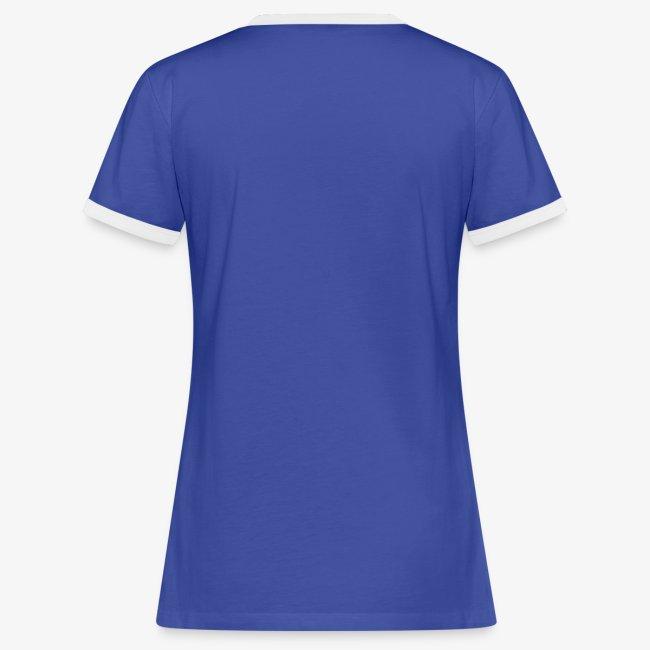 Vorschau: Dein Hufschlag - Frauen Kontrast-T-Shirt