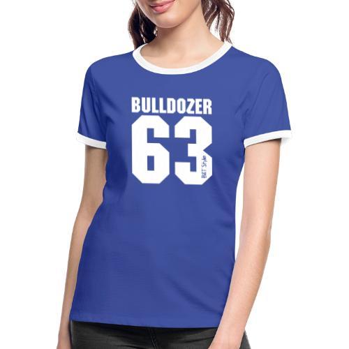 Bulldozer 63 - Maglietta Contrast da donna