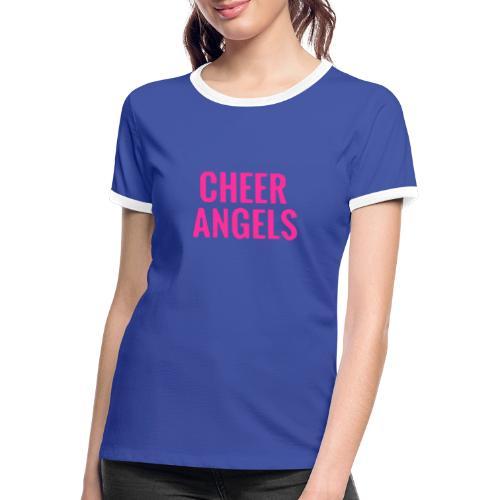 Cheer angles Pink - Naisten kontrastipaita