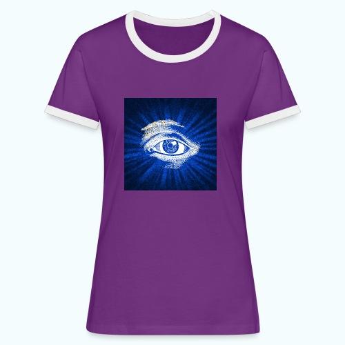 eye - Women's Ringer T-Shirt