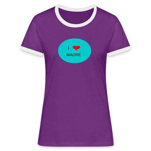 DIA DE LA MADRE - Camiseta contraste mujer