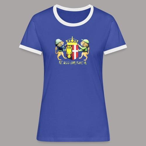 Neuss am Rhein - Frauen Kontrast-T-Shirt