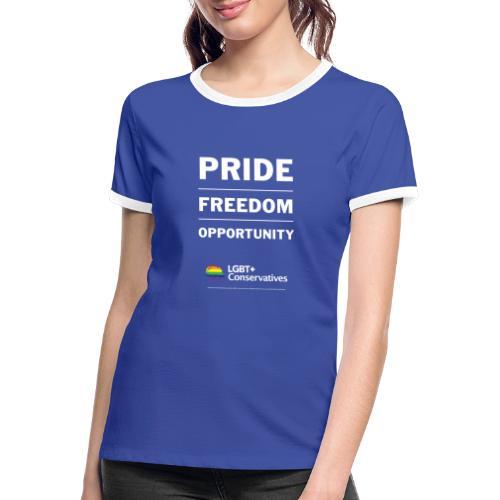 Tory Tshirts Final3 - Women's Ringer T-Shirt