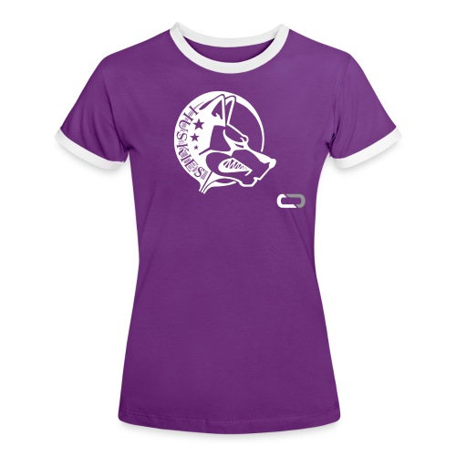 CORED Emblem - Women's Ringer T-Shirt