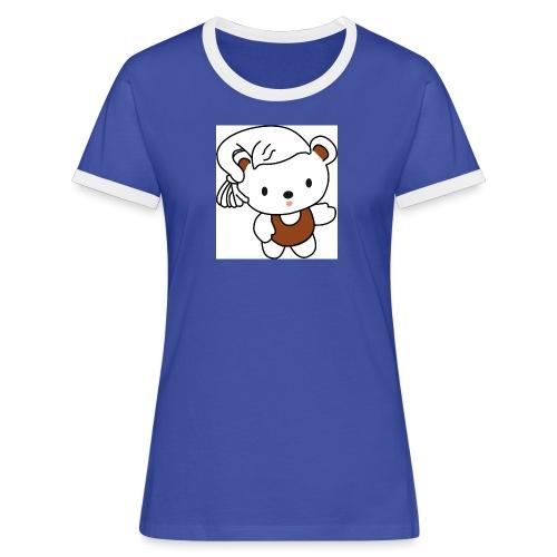 schlafmuetzen logo1 - Frauen Kontrast-T-Shirt
