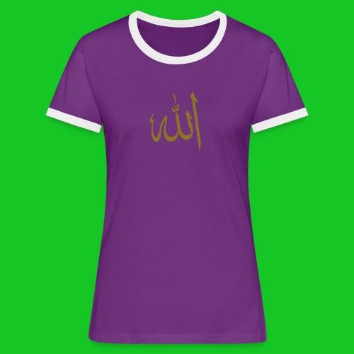 Allah - Vrouwen contrastshirt