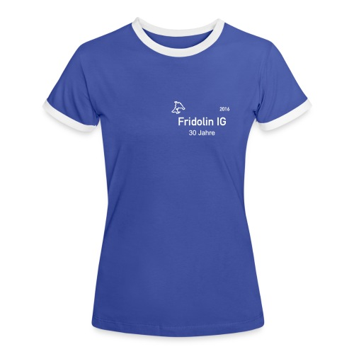 Logo IG - Frauen Kontrast-T-Shirt