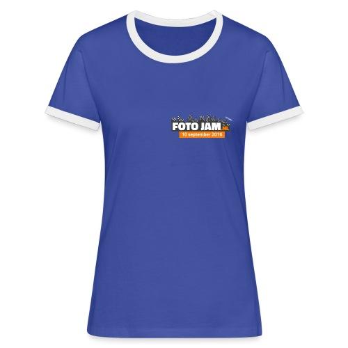 FotoJam_Tshirt_2016_PNG - Vrouwen contrastshirt