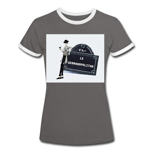 Sac Le Germanopolitan - T-shirt contrasté Femme