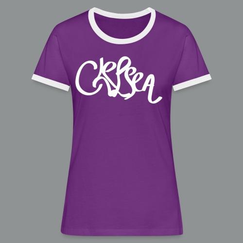Mannen Shirt (Rug) - Vrouwen contrastshirt