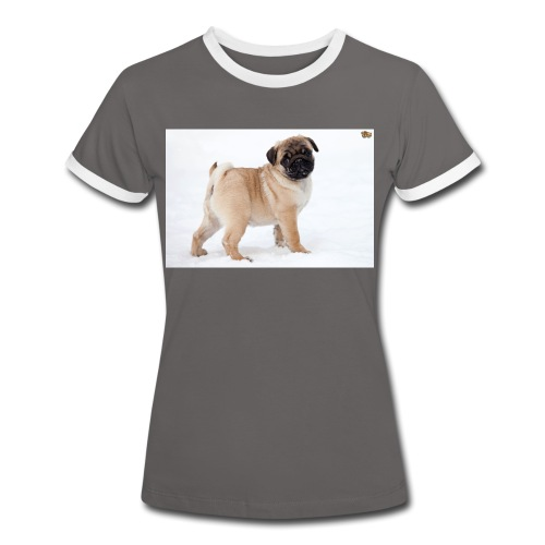 walker family pug merch - Women's Ringer T-Shirt