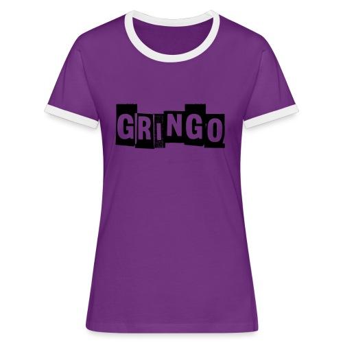 Cartel Gangster pablo gringo mexico tshirt - Women's Ringer T-Shirt