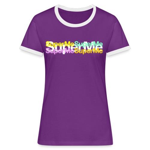 Super Moi - T-shirt contrasté Femme