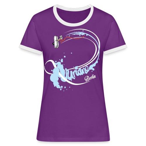 Kunstflug - Frauen Kontrast-T-Shirt