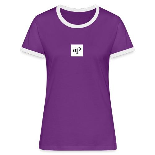 Ap cap - Vrouwen contrastshirt