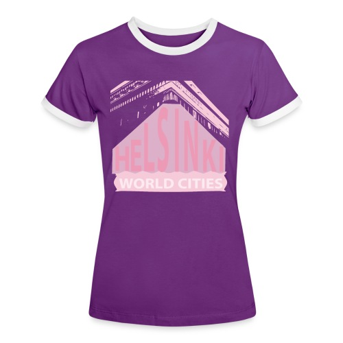 Helsinki light pink - Women's Ringer T-Shirt