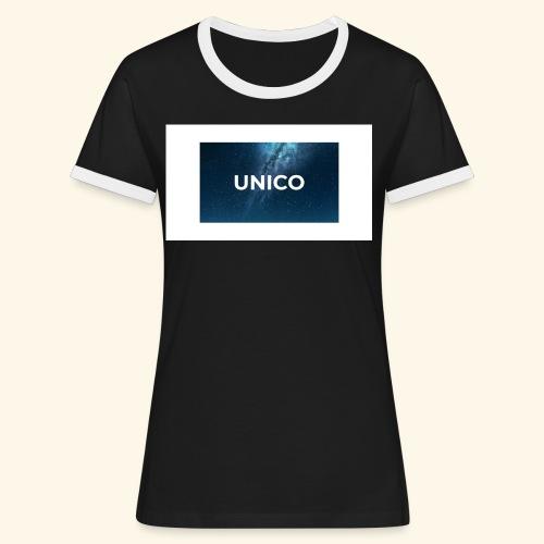copertina canzone-unico - Maglietta Contrast da donna