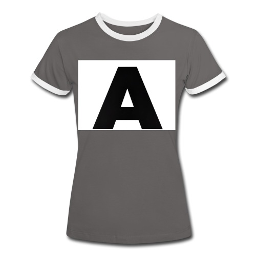 A-685FC343 4709 4F14 B1B0 D5C988344C3B - Dame kontrast-T-shirt