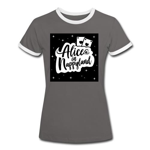 Alice in Nappyland 1 - Women's Ringer T-Shirt