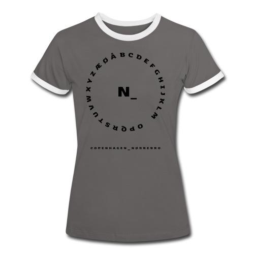 Nørrebro - Dame kontrast-T-shirt