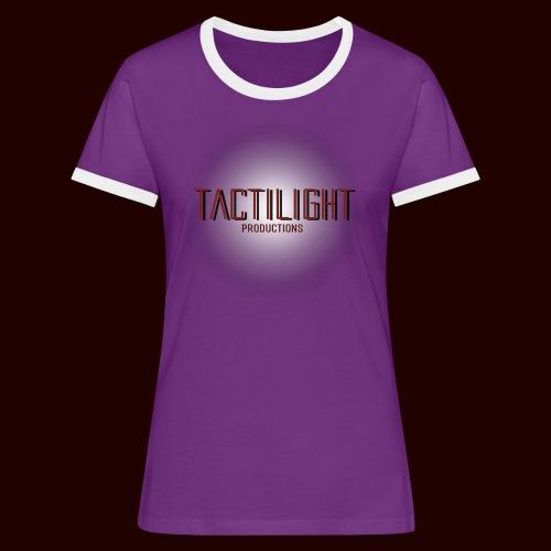 Tactilight Logo - Women's Ringer T-Shirt