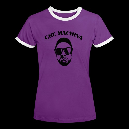 CHE MACHINA - Maglietta Contrast da donna