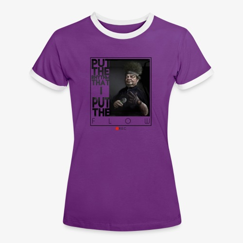 bboy forever - Camiseta contraste mujer
