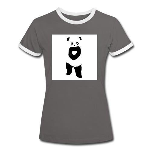 fffwfeewfefr jpg - Dame kontrast-T-shirt