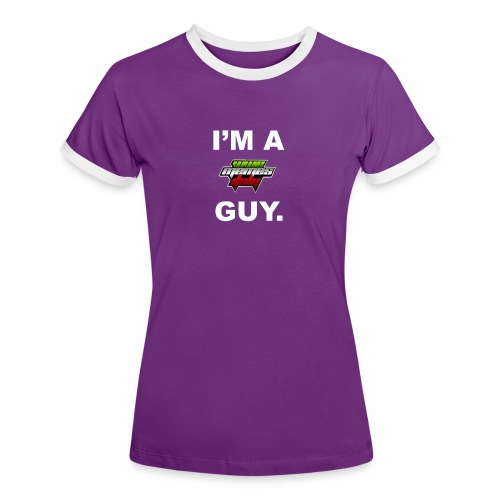 I'm a WMItaly guy! - Maglietta Contrast da donna