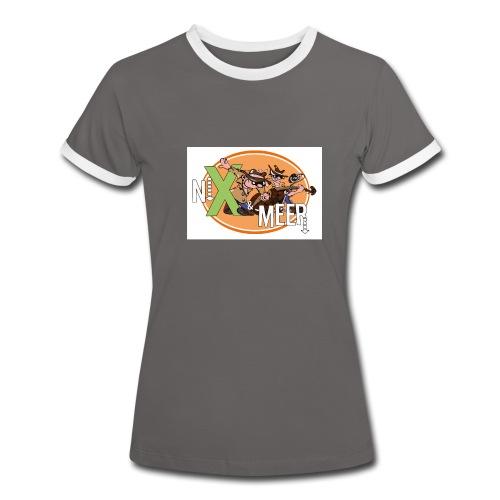 nixenmeer - Vrouwen contrastshirt