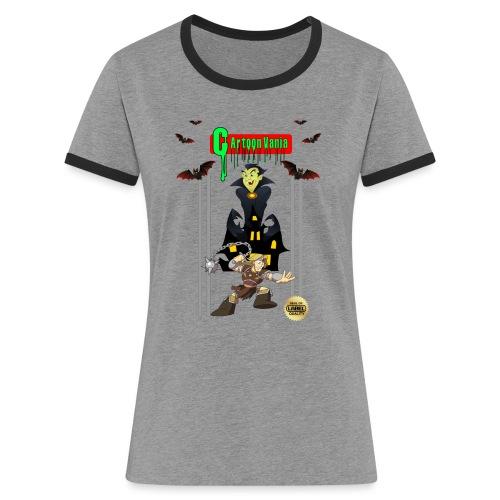 CartoonVania - Women's Ringer T-Shirt