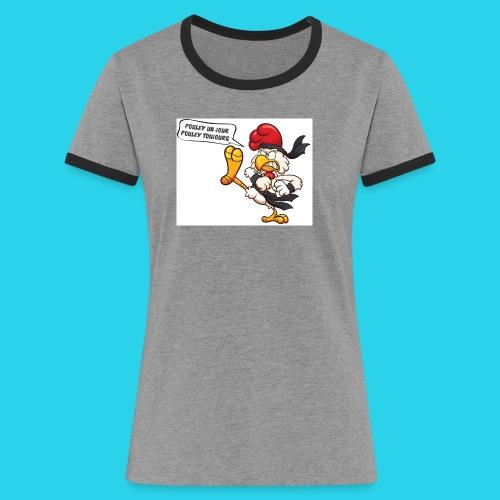 Les Pouleyyys - T-shirt contrasté Femme
