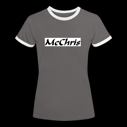 MCCHRIS - Frauen Kontrast-T-Shirt