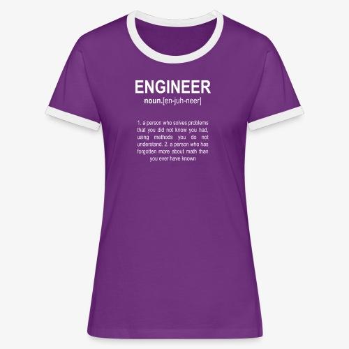 Engineer Def. 2 - T-shirt contrasté Femme