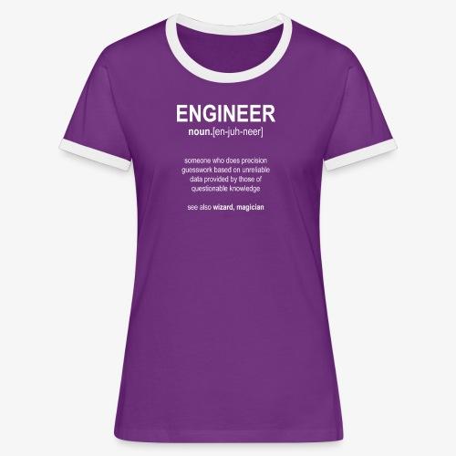 Engineer Def. 01 - T-shirt contrasté Femme