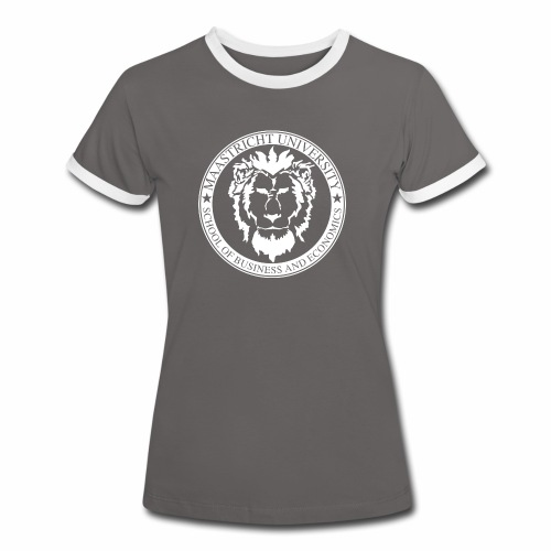 SBE Lion White - Women's Ringer T-Shirt