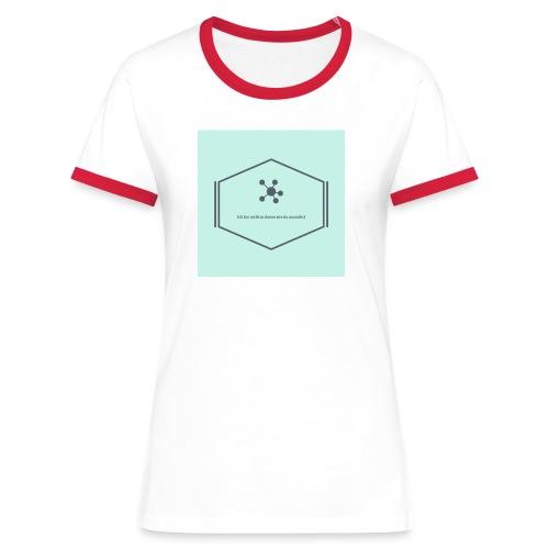 Ich bin nicht so dumm wie du aussiehst - Frauen Kontrast-T-Shirt