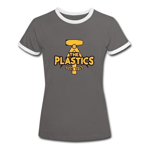 plastics_logo - Naisten kontrastipaita