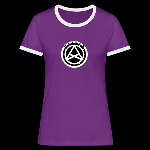 Nether Crew Black\White T-shirt - Maglietta Contrast da donna
